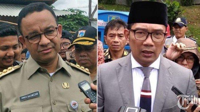 Anies Baswedan Tegur Ridwan Kamil Gegara Covid-19, Gubernur Jawa Barat Malah Jawab Begini, Sindir?