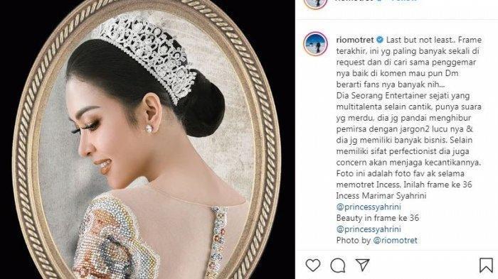 Syahrini Dituduh Sindir Luna Maya, Fotografer Rio Motret Beri Pembelaan untuk Inces