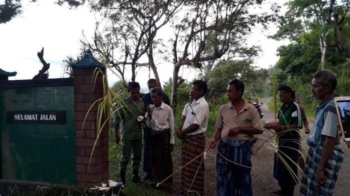 Ritual Adat  Tolak  Virus   Corona  Digelar di Desa  Du