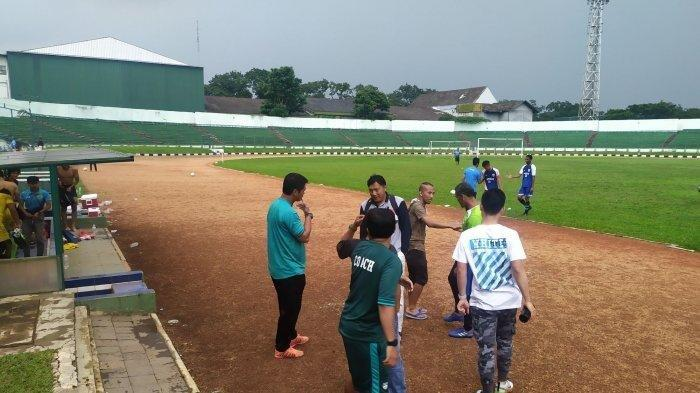 Akhirnya Semua Pemain Maung Diliburkan, Mabes Persib Bandung Disemprot Disinfektan, Info
