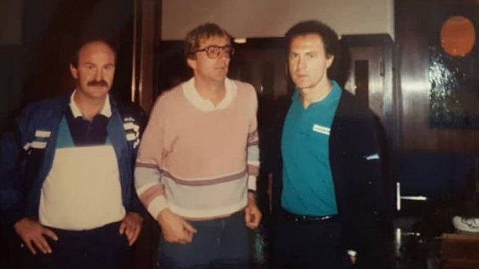 SUPERBALL - Pelatih Persib Bandung Robert Alberts Berteman Legenda Timnas Jerman, Der Kaiser Franz