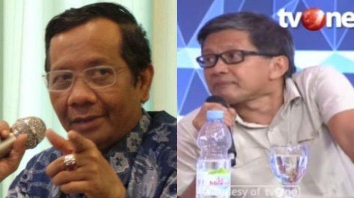 Rocky Gerung Desak Mahfud MD Tegur Kapolri Jenderal Idham Azis Soal Maklumat Larangan Kegiatan FPI