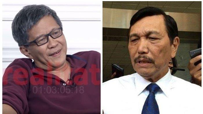 Singgung Pembisik & Beberkan Sosok Luhut, Rocky Gerung Sangsi Sang Menteri Proses Hukum Said Didu