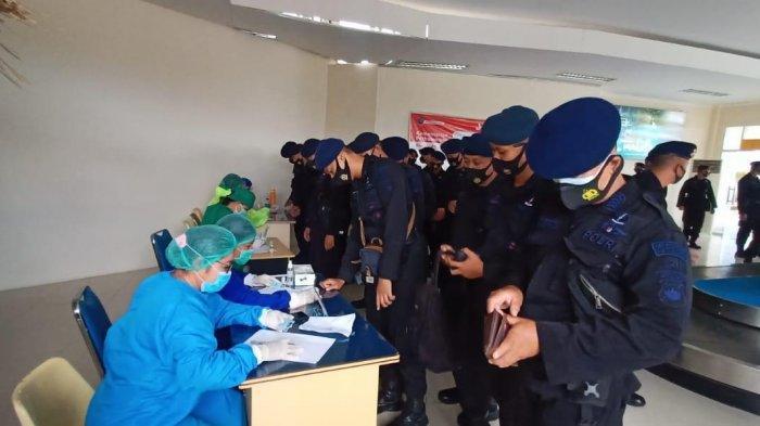 300 Personil Brimob Nusantara BKO Polda NTT, Siap Amankan Pilkada 9 Kabupaten di NTT