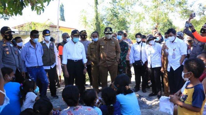 Dua Menteri Kunjungi Pukdale Kupang, Perkuat Koordinasi Pemerintah Pusat & Daerah Tangani Bencana