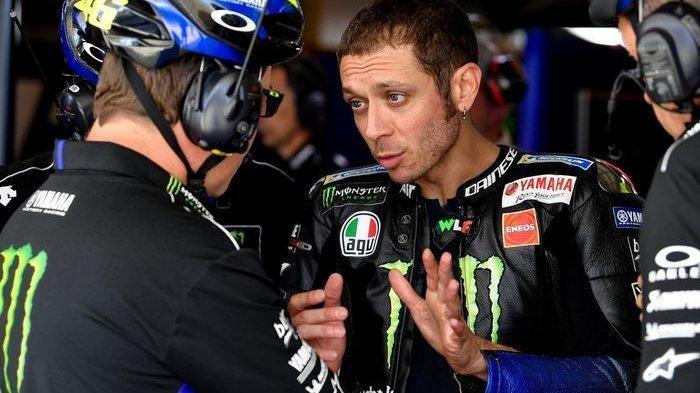 Nasib Valentino Rossi Setelah Tak Lagi Moncer di MotoGP, Bos Yamaha Singgung Usia The Doctor
