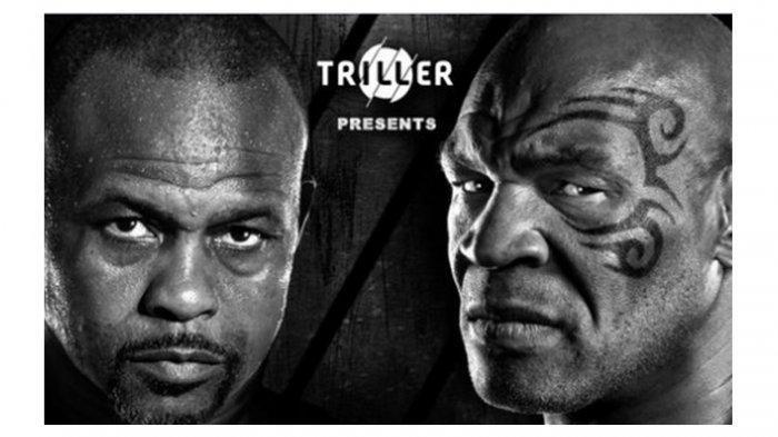 Live Streaming World Boxing Mike Tyson vs Roy Jones Jr, Jadwal Tinju Dunia Minggu 29 November 2020