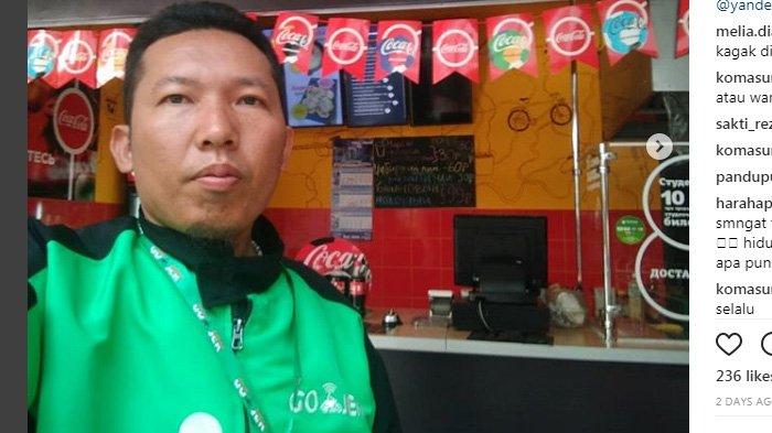 Cerita Roy Sunandar Seorang Pengemudi Ojek Online yang Menonton Langsung Piala Dunia di Rusia