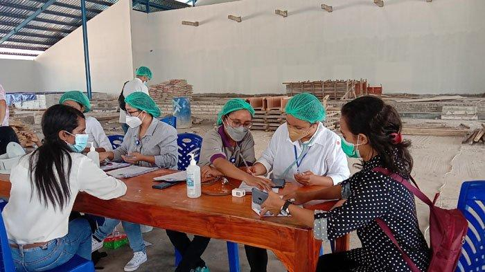 RS Siloam Kupang Gelar Vaksinasi di Kampus Unwira