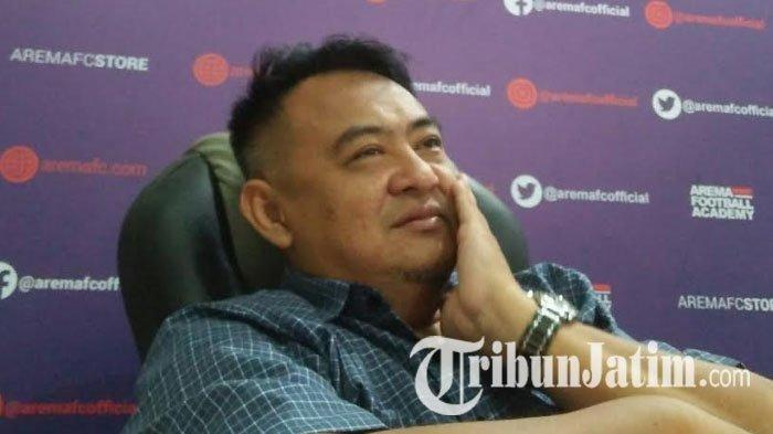 General Manager Arema FC, Ruddy Widodo, Selasa (26/3/2019).