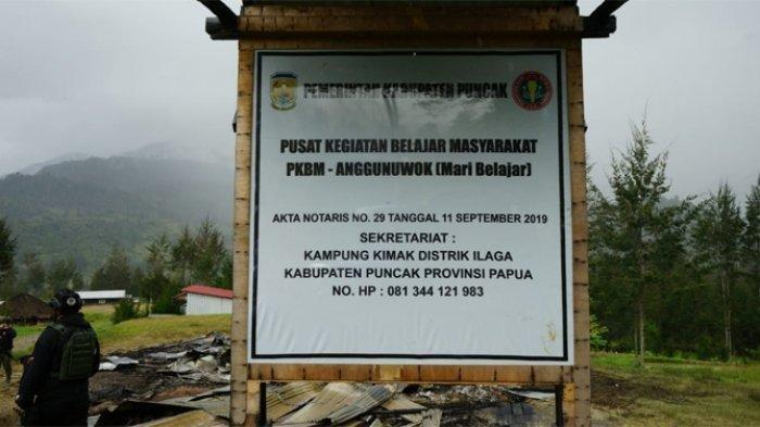 KKB Papua Makin Beringas Bakar Rumah Warga di Ilaga,Satgas Nemangkawi Langsung Ambil Tindakan Tegas