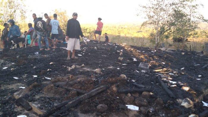 Apes, Ditinggal 30 Menit ke Kebun  Rumah Ludes Terbakar, Yacob: Pakaian Saya Hanya di Badan