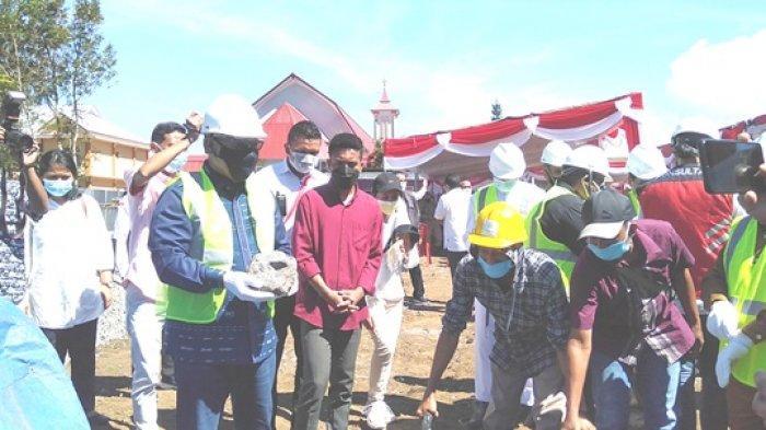 Wagub NTT Letak Batu Pertama Pembangunan Rumah Susun di Seminari Mataloko, Ini Tujuannya