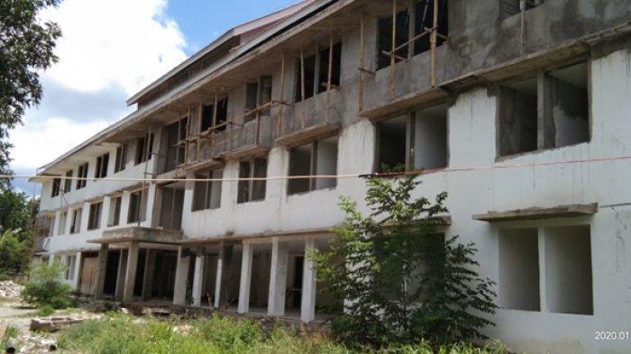 Rekanan PT Tiga Putra Sejati Mandiri Kehabisan Uang Rusun Rp 12,9 di Kota Maumere Tak Diselesaikan