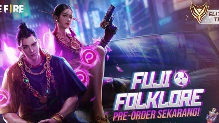 INFO TERKINI Kode Redeem Free 1 Februari 2021, Free Fire Kenalkan Elite Pass Fuji Folklore!