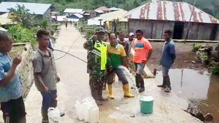 Sumber Air Sudah Dekat Warga Tinabani Kabupaten Ende Tidak Perlu Jalan Kaki Keluar Kampung