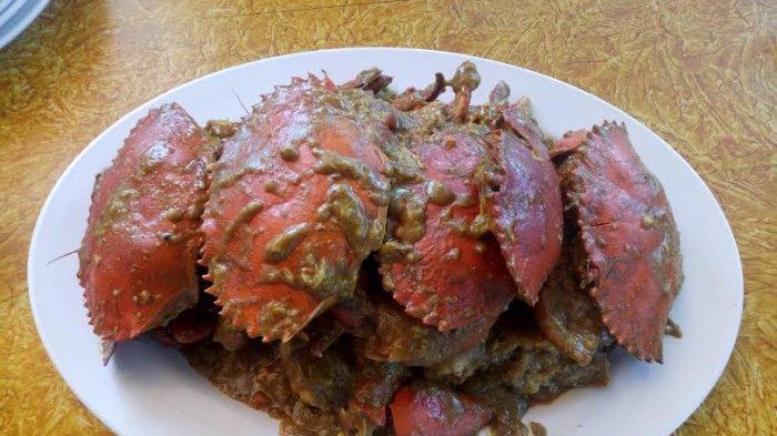 TRIBUN WIKI: Lezatnya Kepiting Singapura Palapa Resto, Nikmati Sensasi Rasanya