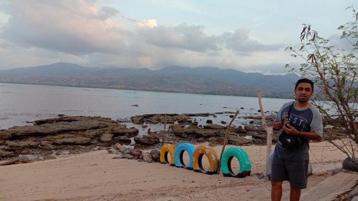 TRIBUNWIKI : Mencari Ketenangan di Pantai Kelapa Enam Larantuka