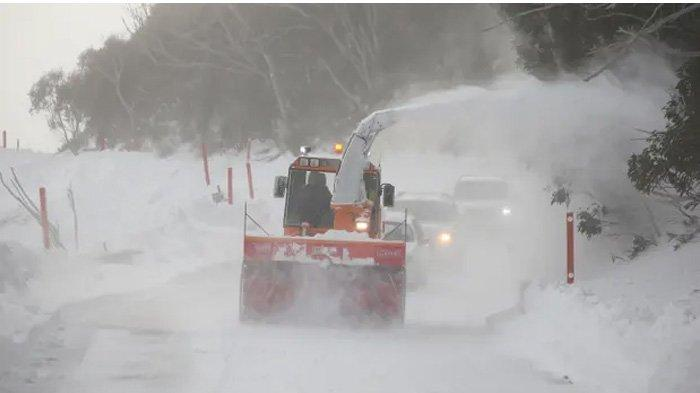 1 Tewas Akibat Angin Kencang dan Dingin di Sydney dan Melbourne Saat  Badai Salju Landa Australia