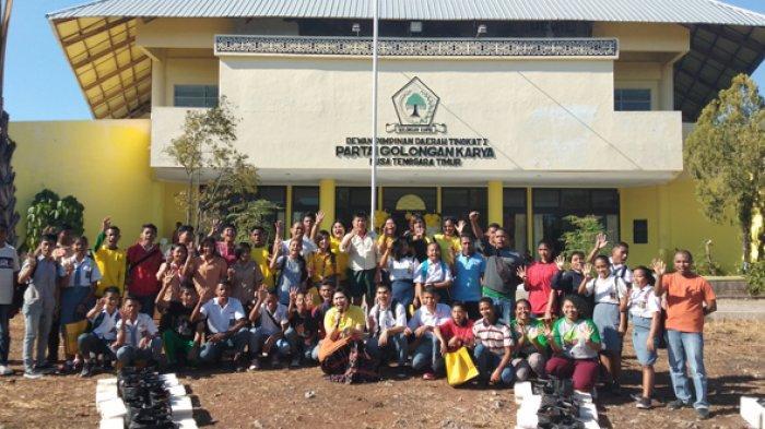Sambut HUT ke-55 Golkar NTT Gelar Kegitatan Menarik Untuk Anak dan Kaum Muda