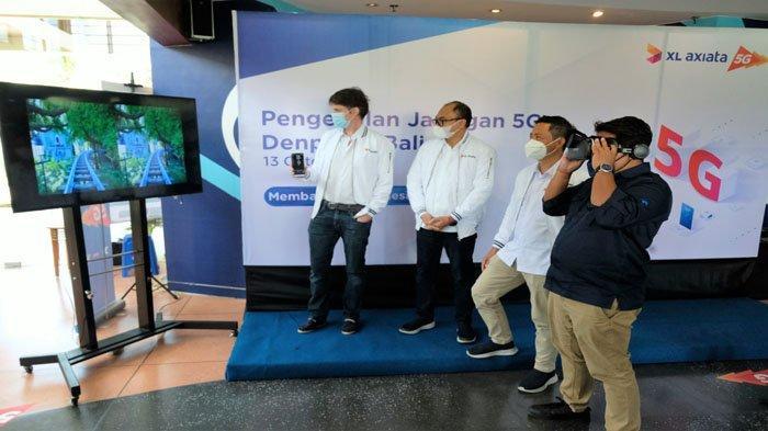 Sambut Pembukaan Pariwisata Bali XL Axiata Kenalkan Jaringan 5G