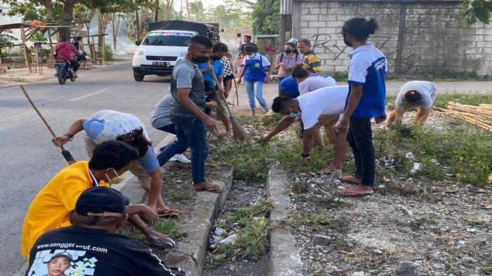 Sampah Masih Bertebaran di Kota Kupang