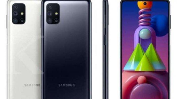 Samsung Galaxy M51 dengan Baterai 7.000 mAh Segini Harganya, Tergolong Murah, Cek Spesifikasi