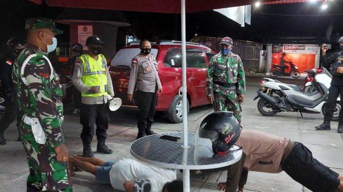 Aparat TNI-Polri Gelar Patroli Gabungan Penerapan PPKM Level 3 di Kabupaten TTU