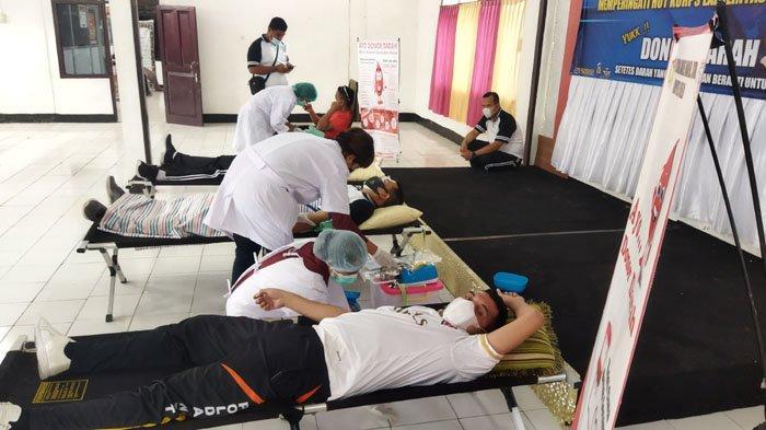 Satlantas Polres Belu Sumbang 26 Kantong Darah Untuk Masyarakat