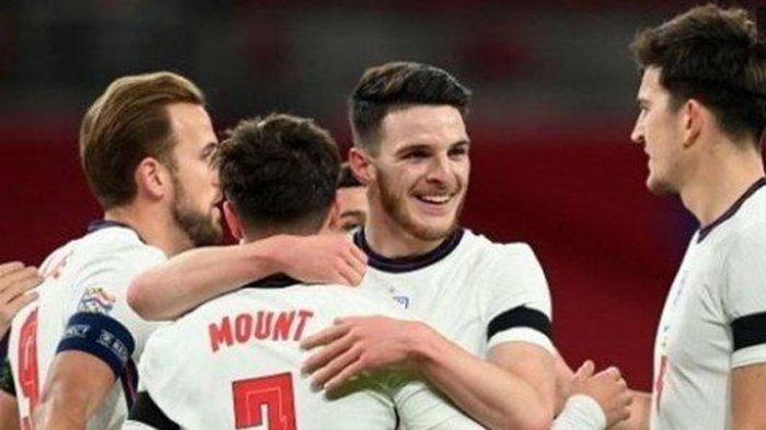 Sedang Berlangsung Link Live Streaming Inggris vs Kroasia di EURO 2020, Minggu 13 Juni 2021 di Live Streaming Mola TV tapi tak Live Streaming RCTI, Mason Mount dan Marcus Rashford main