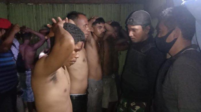 Warga Dua Desa Saling Bentrok di Kabupaten Kupang,10 Orang dan Enam Sepeda Motor Diamankan Polisi
