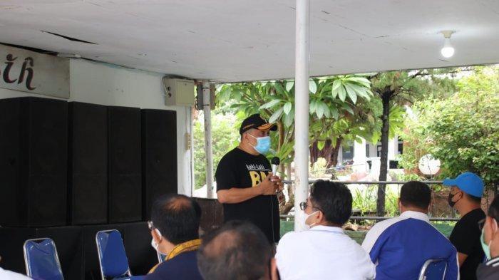 Sekda Kota Kupang Fahrensy Minta Camat dan Lurah  Giat Sosialisasikan Pencegahan Covid-19