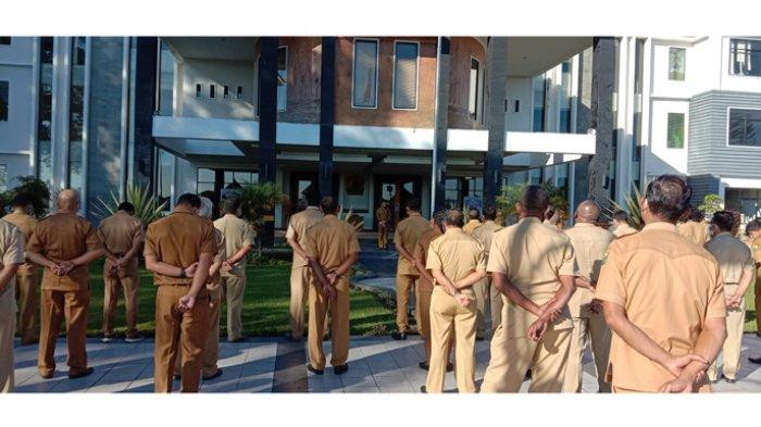 Sekda Manggarai Fansi Jahang: Pimpinan OPD Wajib Ikut Kegiatan Bupati dan Wabup