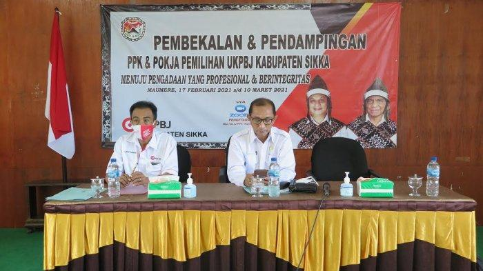 Biar Bekerja Profesional dan Berintegritas, PPK dan Pokja UKPBJ Kabupaten Sikka Diberi Pembekalan