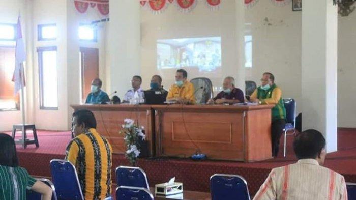 Sekretaris Daerah Ikuti Video Conference Dengan Mendagri