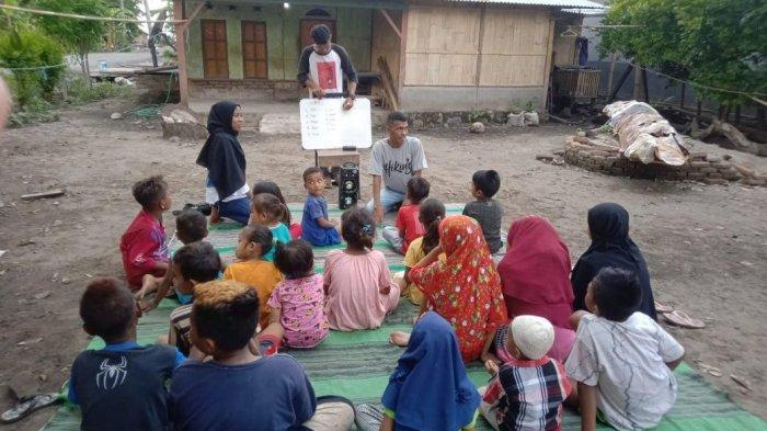 Sekola Gembira: Pendidikan Alternatif Bagi Anak Pesisir Lewoleba-Lembata