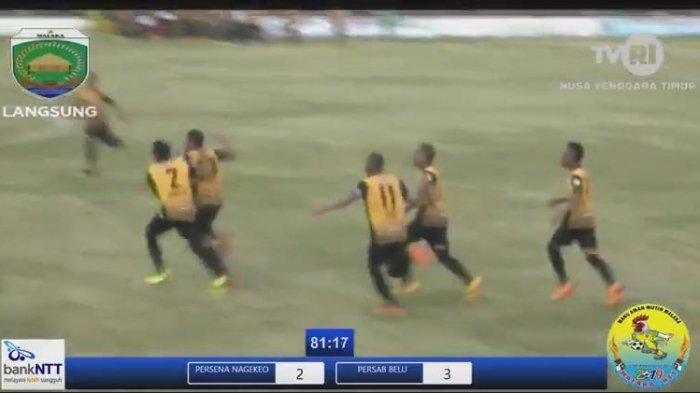 LIVE TVRI! Link Streaming & Jadwal El Tari Memorial Cup Senin 8 Juli 2109, Persami vs PSKK