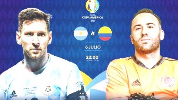 Duo Striker Argentina Menenami Lionel Messi vs Kolumbia di Copa America, Ini Daftar Nama Pemain