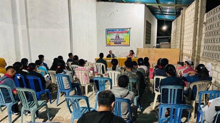 Suasana seminar yang digelar oleh OMK HKY Bimoku Kupang, Juni 2021.