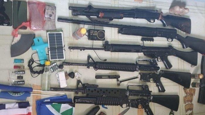 Gudang Senjata KKB Papua Ditemukan, Terungkap dari Gelagat Warga Berlarian Tinggalkan Rumah Adat