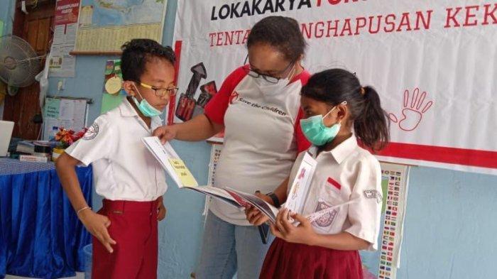 Kisah Anak-anak SDI Kotabes Belajar Menghindari Kekerasan,Save the Children Fasilitasi Forum Anak