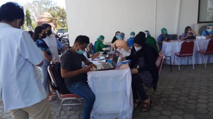 Lindungi Bayinya dari Covid-19, Anisa Ibu Hamil di Kota Kupang Senang Divaksinasi