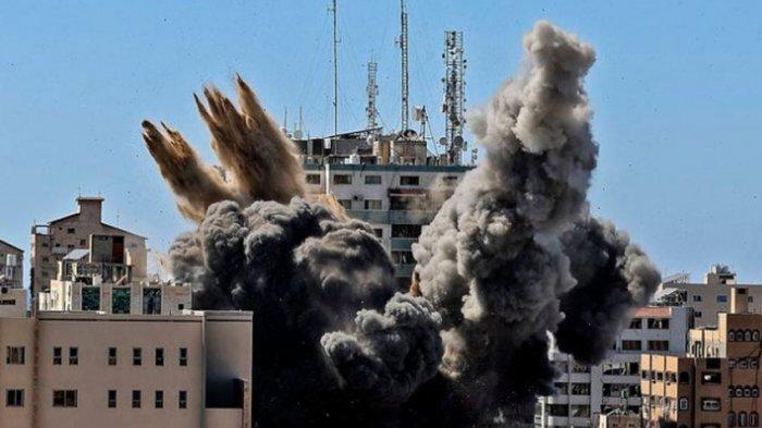 10 Menit yang Menegangkan, Kisah Jurnalis Saat Kantor Media di Gaza Digempur Pesawat Tempur Israel