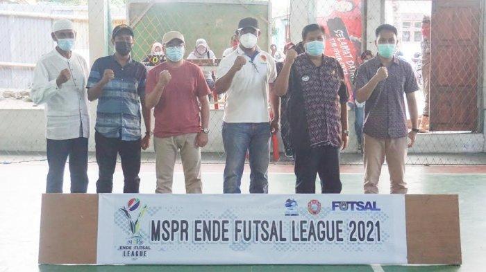 Liga Futsal Perdana di Flores Bergulir di Ende, Supriyadin Ingin Gairah Futsal Hidup Kembali