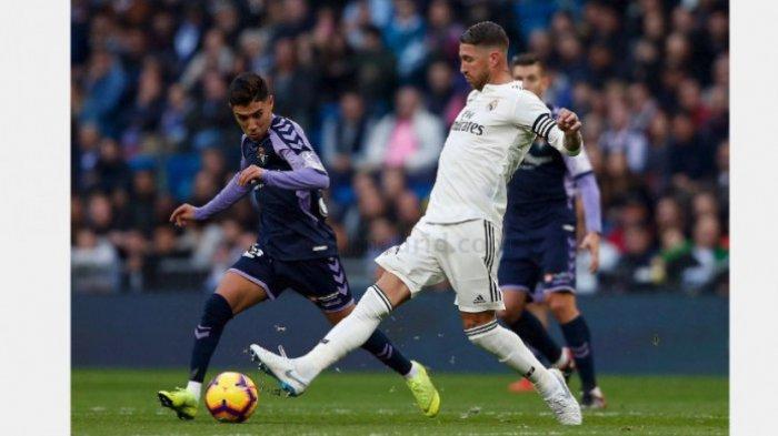 SEDANG BERLANGSUNG Live Streaming Vidio.com Osasuna vs Real Madrid Liga Spanyol, Skor Sementara 1-2