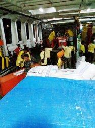 Setiap Hari, Armada Ferry ASDP Angkut Logistik ke Beberapa Kabupaten Terdampak Seroja