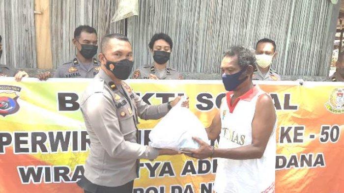 Ikatan Setukpa Polri Angkatan 50 Gelar Bakti Sosial Di Kota Kupang Dengan Cara Berbeda