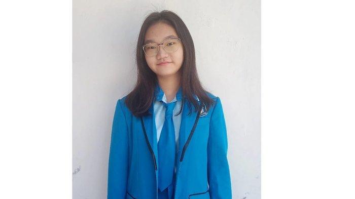 Sheila Putri Haryono, siswi kelas 9 SPEKSANYO berhasil lolos dalam Kompetisi Olimpiade Penelitian Siswa Indonesia (KOPSI) 2021.