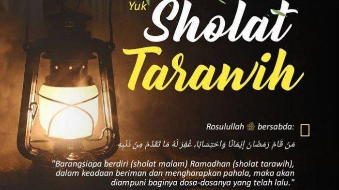 Bacaan dan Tata Cara Lengkap Niat Sholat Tarawih Bulan Ramadhan 2019/ 1440 H