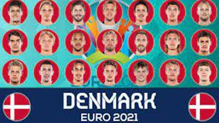 Siaran Langsung EURO 2021 Via RCTI, Daftar Pemain Denmark EURO 2021 dan Jadwal Lengkap Euro 2021